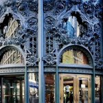 Northwest ornamental cast-iron entrance to the @CarsonsStores Building , 1898-1904, #Chicago ~ @CandidCandace @mcuban http://t.co/ynRqJ6xA6E