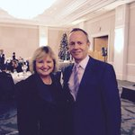 At the @C_IBC luncheon. Always happy to visit with @Stockwell_Day #bcpoli #northvan http://t.co/WserMIlZNf