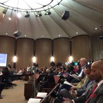 Big crowd at #Phoenix City Council meeting for discussion of police-community relations after Rumain Brisbons death. http://t.co/8830glmTO5