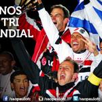 PARABÉNS, TRICOLOR!  Há 9 anos, o São Paulo se consagrou tricampeão mundial! Onde você estava nesse dia inesquecível? http://t.co/mFc8si15Uz