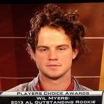 Whats crazier? All the teams involved in the Will Myers trade talk or Myers hair? http://t.co/FEml42Bzsp