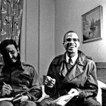 Castro met Malcolm X in Harlem NYC 1960: #Reuters http://t.co/VHBo4i6r4r