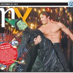 What do you get when you bring #Elphaba from #Wicked and #JohnnyCastle from #DirtyDancing? A great #Sydney #Summer! http://t.co/Gscj05rGmn