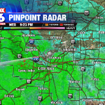 Rain, mixed with some sleet increasing in Central AR. Wont cause any problems with temps above freezing #arwx http://t.co/Meg8mByZTG