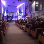 Packed Service in White Rock to remember and celebrate the life of Teagan Batstone. @GlobalBC http://t.co/Ko9IV3yZF8