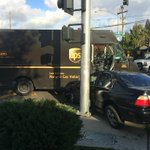 Major car thief crashes in to UPS truck trying to run from cops. #LiveOnFox26 http://t.co/6MJ8B9FEza