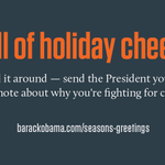 It's beginning to look a lot like holiday card season. Sign @OFA's card for President Obama: http://t.co/Vt6jYma7ol