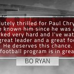 RT @BadgerMBB: Welcome back Coach Chryst! http://t.co/XNjYjJKBKa