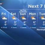 Heres your 7-day forecast Calgary and it looks like Christmas might be white this year. #yyc http://t.co/skZZOKPMFT