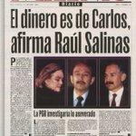 La exoneración de Raúl Salinas me recordó esta portada (octubre del 2000) http://t.co/o0TSLLq9Kv