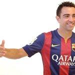 Xavi abrazando a los refuerzos de las Chivas: http://t.co/Ml2O7Sz8X3