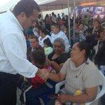 Acompañado de @PelayoFrancisco y @RigoMares, muy contento de saludar a mis amig@s de Villa Morelos, en Comondú. http://t.co/2naUz7Gvck