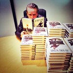 Signing with the wonderful staff of @Powells. Only 899 to go! #asyouwishbook #powellsevents #PrincessBride http://t.co/hkXESG9t7o