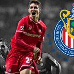 CONFIRMADO: Isaac Brizuela es nuevo futbolista de @Chivas llega del @deptolucafc. http://t.co/N9Cjd1GQ2P