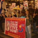 @Freethe5_Van celebrating #Cuban5 victory at #USA Consulate in #Vancouver @rene4the5 @siempreconcuba @jovenesporlos5 http://t.co/xP4xaL6hDA