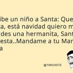Escribe un niño a Santa: Querido Santa, está navidad quiero... #QueridoSantaYoQuiero http://t.co/yHXhAKKAjr