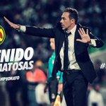 #SiTeLoPerdiste @gusmat_dt dirigirá a nuestro equipo en el torneo Clausura 2015 #JuntosPorElBicampeonato http://t.co/tx2YJ5NO1Z