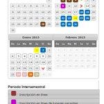 #QueNoSeTePase El 05 de enero regresamos a los intersemestrales de invierno y concluimos clases el 23 del mismo mes. http://t.co/mLOOfLhMoC
