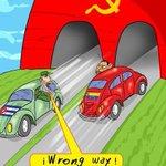 Caricatura EDO (2010) wrong Way!  / EEUU y Cuba http://t.co/Q7DKQmq0Z6