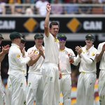 Congratulations to Josh Hazlewood on taking five wickets on Test debut! #AUSvIND http://t.co/bsEUELOPa1