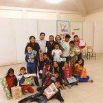 """Llevando el mensaje navideño de nuestro pdte @juancuit a los niños de la casa hogar """"CHILD"""" #NosMuevesTU http://t.co/kFQclMUeoj"""