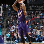 Thomas had 23 off the bench as @Suns earned a hard-fought 111-106 W over @hornets. Jefferson/Walker had 55 combined. http://t.co/aNm3UuCxsq