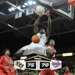 KNIGHTS WIN! UCF tops Detroit 75-70. @ProBound23 leads with 21 points and 7 rebounds. #ChargeOn http://t.co/mRVGFGA8Ch