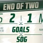 #mnwild outshooting Boston 28 to 14 after two periods, but trails 2-1 still. #BOSvsMIN http://t.co/a8W97UYreb