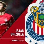 Isaac Brizuela, nuevo refuerzo de Chivas. #Selosdije @ESPNmx http://t.co/04rEiIlwhJ