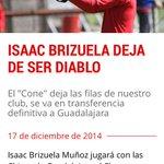 Toluca anuncia en su página la transferencia de Brizuela a Chivas. Prueba de que sí se puede comprar a los mejores. http://t.co/oQw6hpwFnl