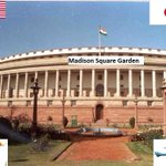 Thats how they lured Modi Ji in to attend parliament today. http://t.co/5iBBuXVKBH