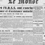 """Le 18 décembre 1944 : """"Le Monde"""" est né par @SChesnel http://t.co/aWFO8YgbsI http://t.co/ZsoOrXiliu"""