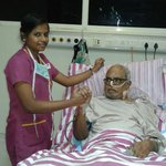 #KBalachander Sir 's Latest Photo From Hospital  Get well soon #Legend