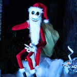 Sandy Claws and his ghost dog reindeer wish you a Scary Christmas! #DisneyHolidays http://t.co/R62gxN9SK9