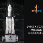 "Congratulations Bharat! RT"" @isro First experimental flight of LVM3 with CARE module successful""...   https://t.co/F94W6yAttO Vande Mataram!"