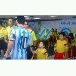 —Messi es un placer conocerte!! — ✔✔ http://t.co/7gRn3s04Z0