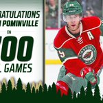 RT to congratulate Jason Pominville and @rsuter20 on playing in their 700th #NHL games tonight. #mnwild http://t.co/9sV0ddOa6A
