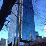 A moment of reflection in downtown #Vancouver (Photo: barberboss) http://t.co/JVo0RSiuFq