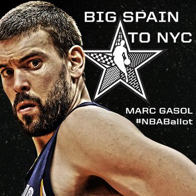 RETWEET to send @MarcGasol to this year's @NBA All Star game in NYC. #NBABallot #GrizzAllStar (26 pts, 9 boards) http://t.co/8Cy9A9GSJS