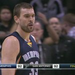 Watch Marc Gasol s insane 3-pointer that sent the #Grizz into OT w/ the #Spurs. http://t.co/vPXAQUHHJ2 #NBABallot http://t.co/FjNDnEJcR3