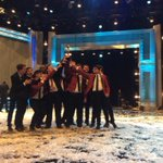 """Congratulations to our @Melodores on winning season 5 of """"The Sing Off"""" on NBC! #champions #SingOff http://t.co/JGYZ410tWX"""