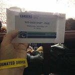 @budcanada @VanCanucks thanks for the gift card! #designateddriver #winner #gocanucksgo http://t.co/9VDv7e4G5i