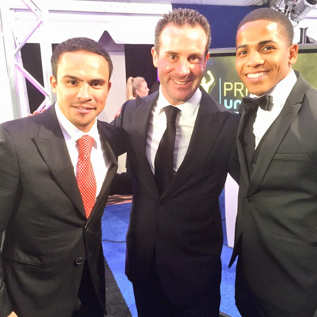 Great seeing @jmmarquez_1 and @DiamanteVerdejo and UVN Deportes Awards. http://t.co/7rdp2DC0of