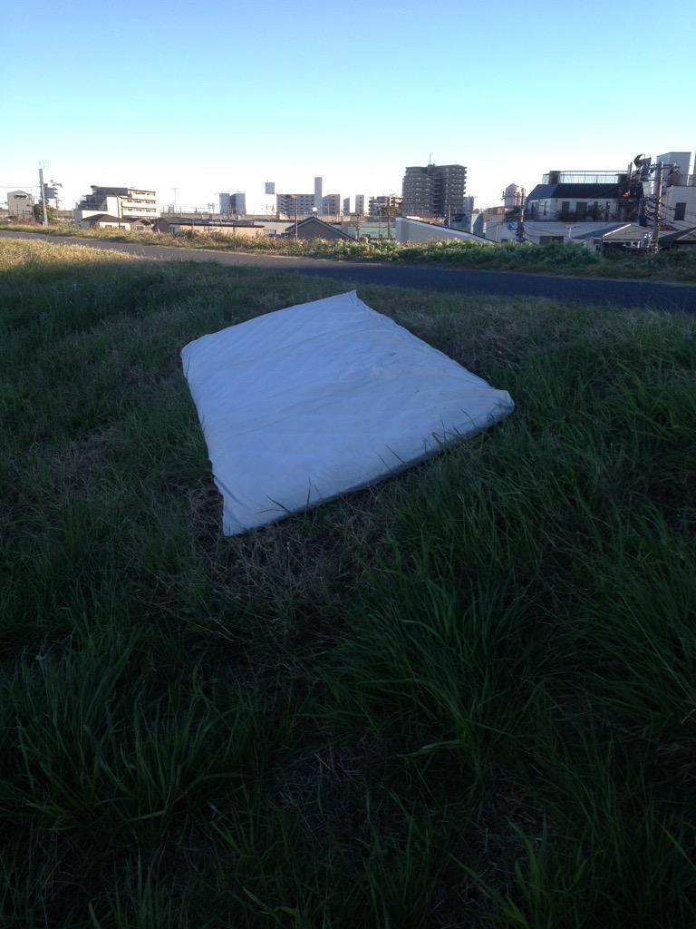 さっきの敷き布団とセットかな。 http://t.co/RznxCC9t2F