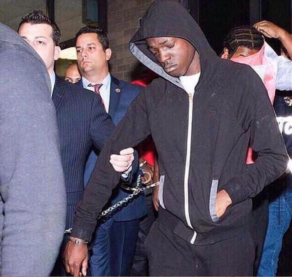 "Bobby Shmurda was arrested in New York earlier today http://t.co/K8wG6CyROw"" http://t.co/OQ3APbC6O1"