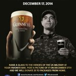 Make sure to post a photo of you hoisting a pint of Guinness to help @PkgsFromHome http://t.co/6b81BuFaUu