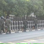 Security heightened outside the National Assembly ahead of debate on the controversial Security Laws Amendment Bill http://t.co/6oRoEW0uRP