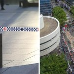 Gallery: How the #SydneySiege floral memorial in #MartinPlace went from this, to THIS... http://t.co/WTSQkpTm7s http://t.co/iZCvErMZqU