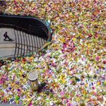 Photojournalist John Donegans photo of the sea of flowers at Martin Place. Just amazing.... #MartinPlace http://t.co/lb1EJcJpSg