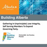 Building Alberta: Prentice Style. #ableg #pcaa #wrp http://t.co/uODZs9BywY